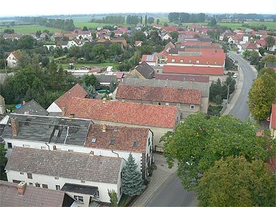 Blick von der Hirschfelder Kirche 2008