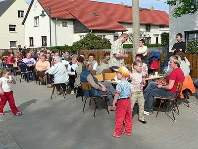 Maibaumstellen Hirschfeld 2005