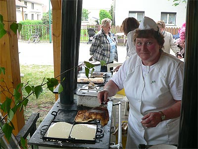 Maibaumstellen Hirschfeld 2009