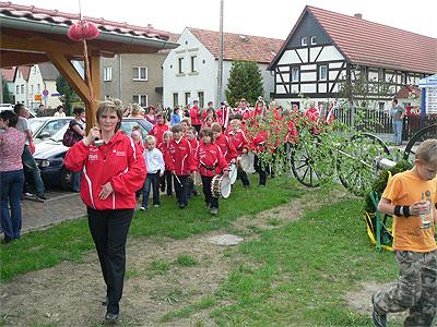 Maibaumstellen Hirschfeld 2010